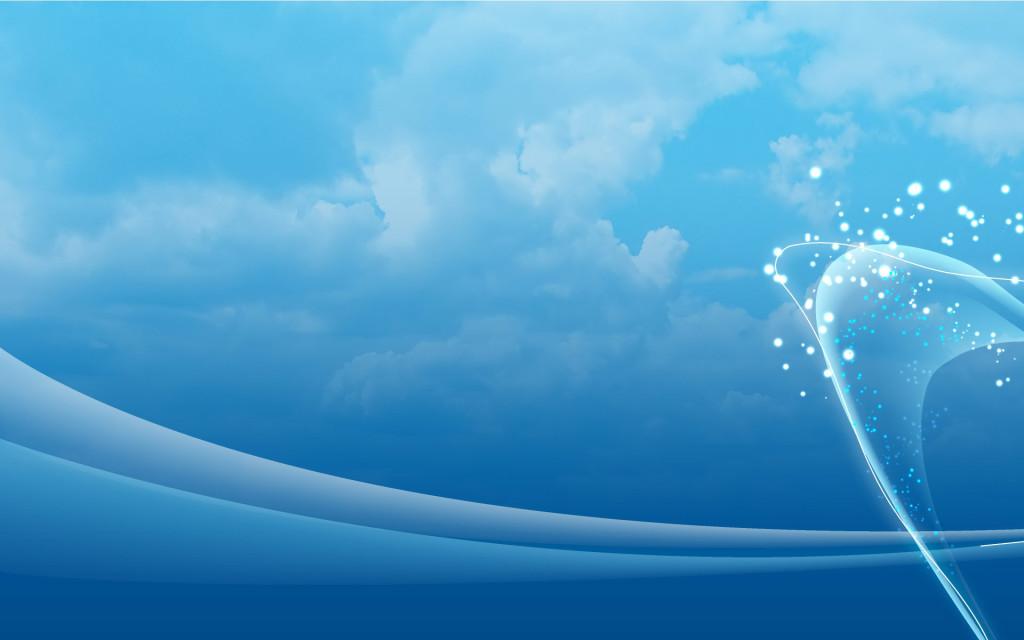 Открытка днем, фон для открытки голубое небо